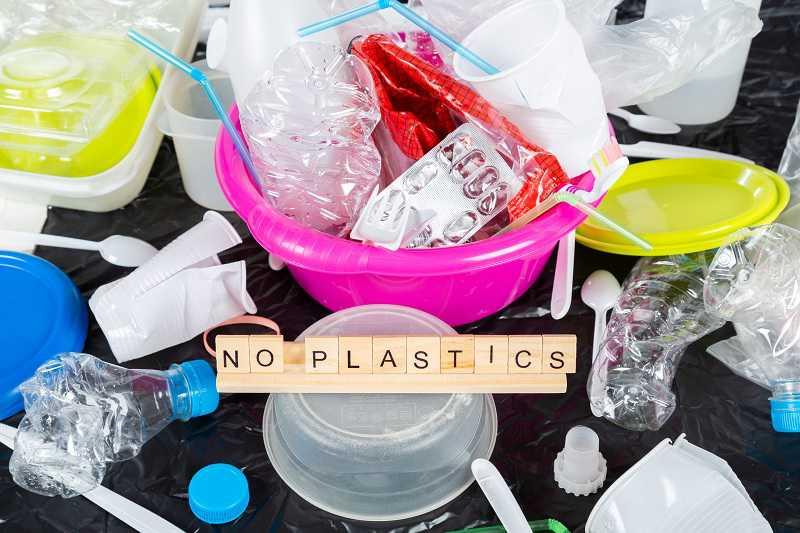 No plastics