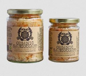 PAMA organic sauerkraut