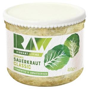 Raw Organic Fresh Kraut