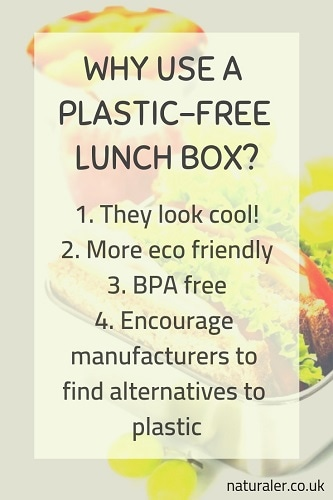 why use a plastic free lunch box?