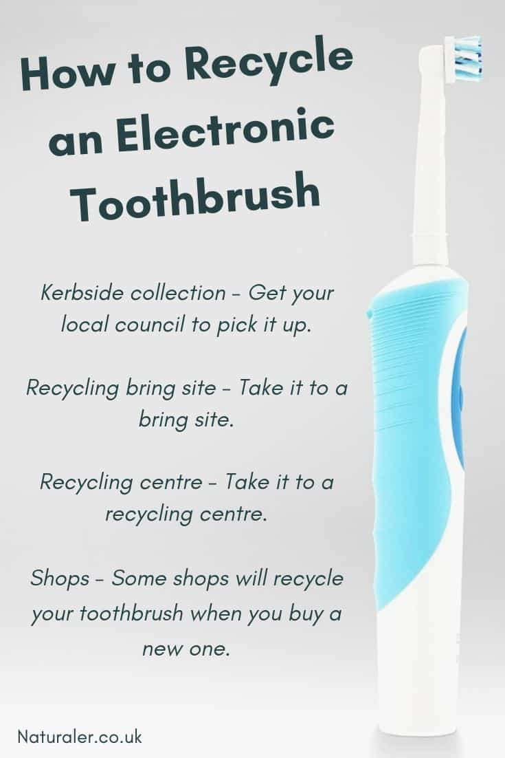 How to Recycle an Electronic Toothbrush