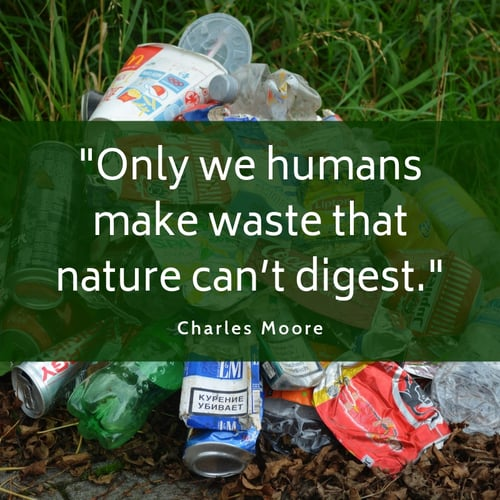 Waste quote Charles Moore