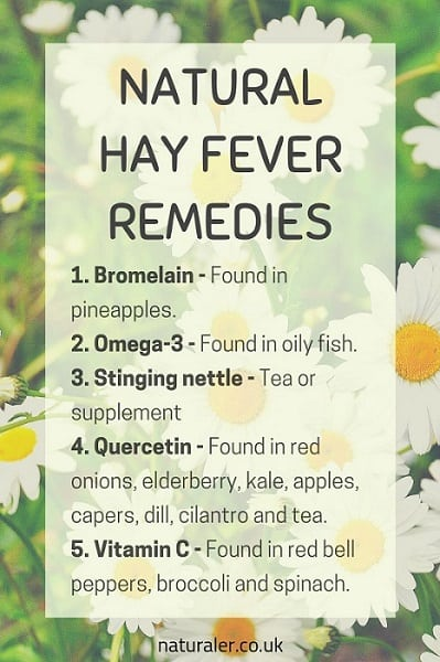 Natural Hay Fever Remedies