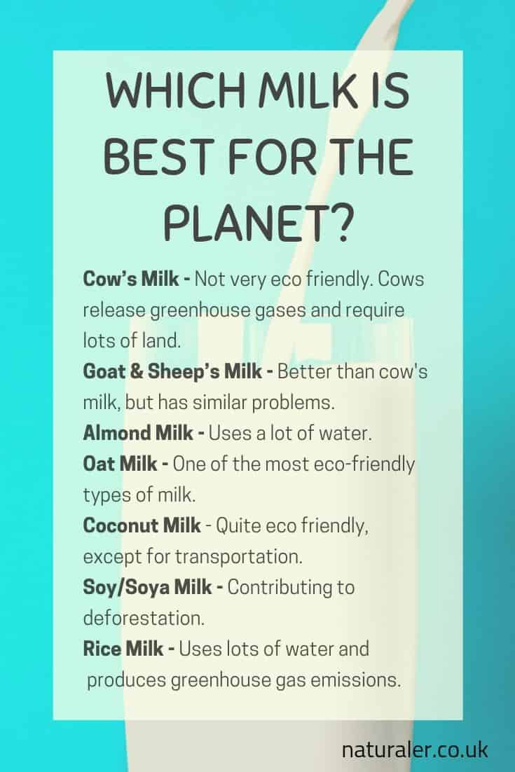 Which Milk Is Best For the Planet