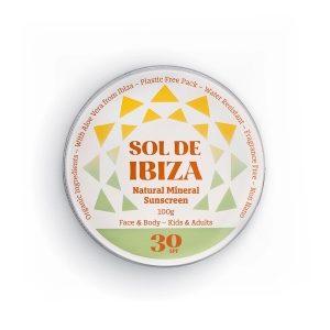 Face & Body Natural Mineral Suncream by Sol de Ibiza