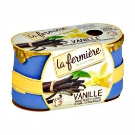 La Fermière Wholemilk vanilla yogurt