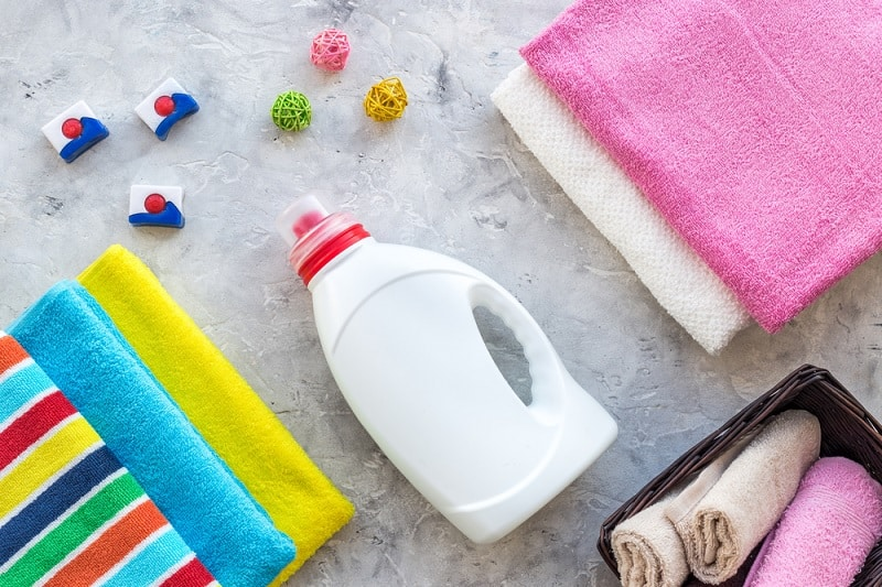 Laundry Detergent and Towels
