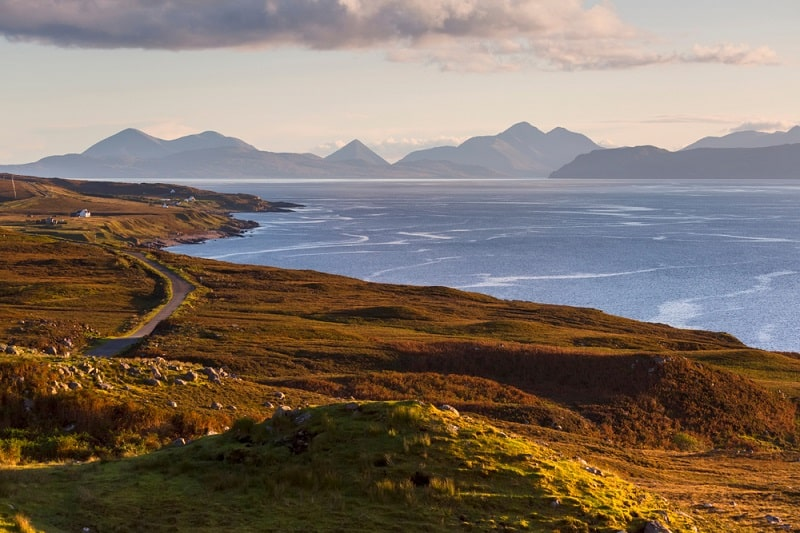 View of Skye from Applecross