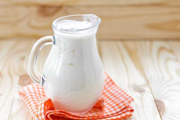 Jug of kefir